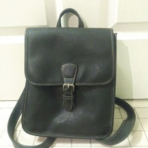 Vintage gap leather backpack purse